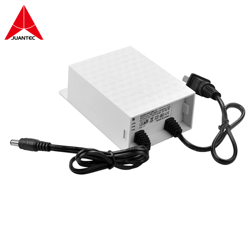 Juantec 12V 2A Power Supply Adapter for CCTV Camera IP Camera and DVR NVR dc12v 10a 9 channel power supply adapter for cctv camera cctv system 12v security professional converter adapter