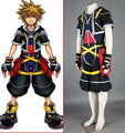 - Kingdom Hearts Cosplay Sora Cosplay negro para hombre Kingdom Hearts Cosplay
