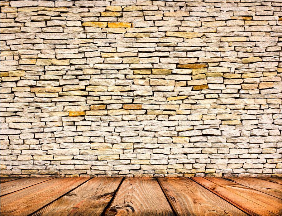 xft chocolate navajo blanco muro de piedra al aire libre suelo de madera de encargo de