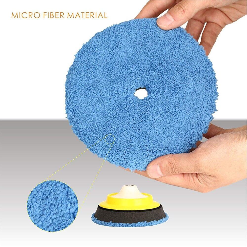 3 almofadas de polimento tampao lustrando pad 02
