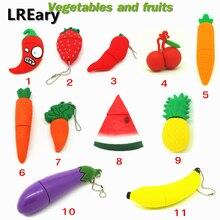 Фрукты флешки овощи USB флэш-накопитель клубника/морковь/ананас/арбуз/банан карта памяти, Флеш накопитель 4 ГБ/8 ГБ/16 ГБ/32 ГБ