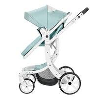 Роскошь высокая Пейзаж Многофункциональный Детские коляски 3 в 1 младенческой сиденье автомобиля для выбора