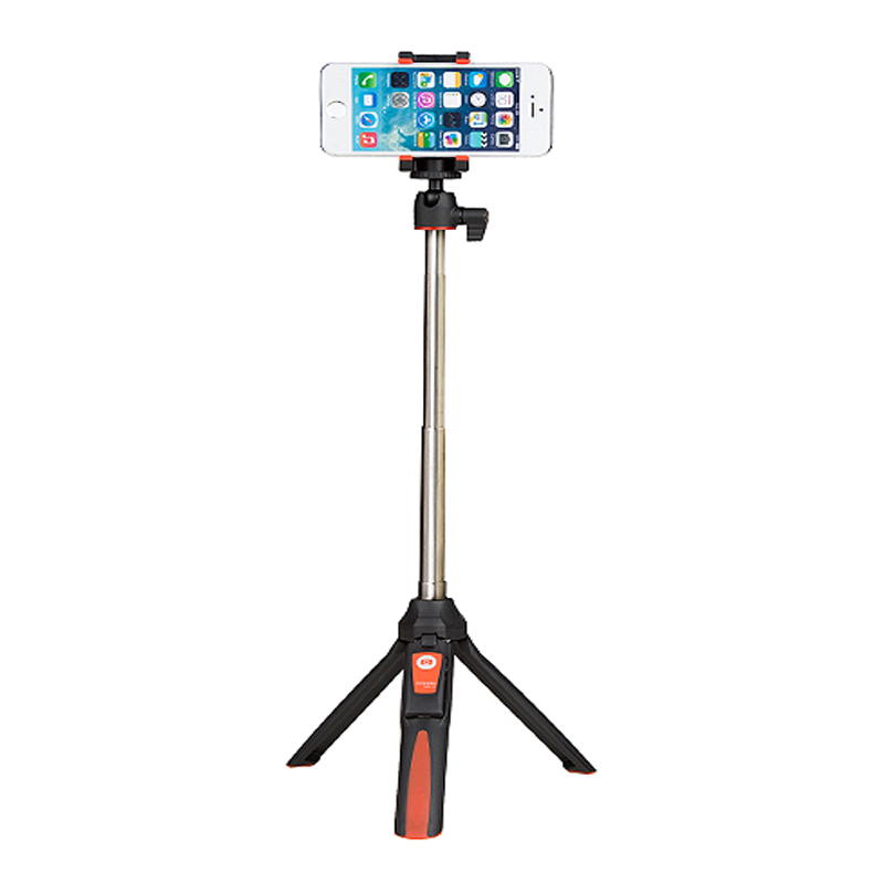 benro mk10 mobile phone holder tripod camera with a