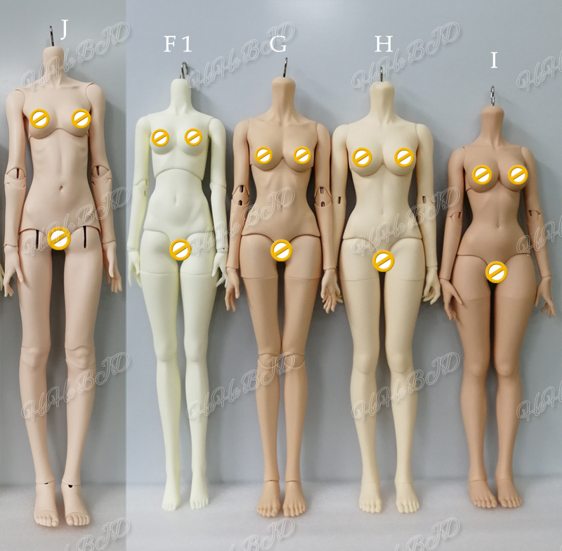 HeHeBJD 1 3 female body resin BJD fashion dolls high quality toys without body blushing