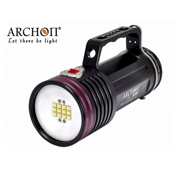 ARCHON DG70W CREE XM-L2 U2 6500 Lumens LED Diving Flashlight Waterproof Diving Torch with Battery and Charge 100% original archon d10s w16s diving flashlight cree xm l u2 led 860 lumens diving flashlight torch without battery