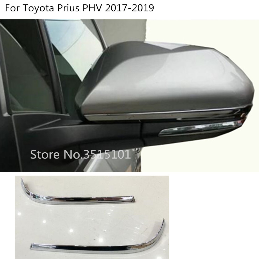 2019 Toyota Prius Prime: Aliexpress.com : Buy Car Body ABS Chrome Back Rear View