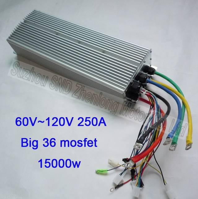 placeholder ebike diy controller high voltage 60v~120v 15000w customized/  e-scooter and small