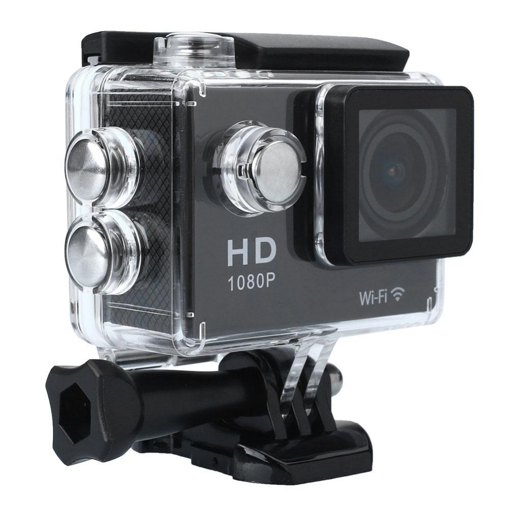 WIFI Waterproof Sport Action Camera Full HD 1080P Video Helmet hd dv Camcorder 1.5 inch Wireless Video Cam h9 ultra hd 4k wifi 2 0 inch bicycle snorkeling surfing helmet sport camera video camcorder waterproof 30 meters under water