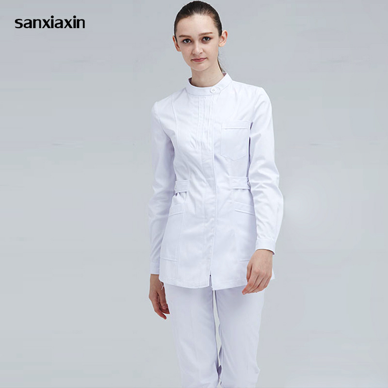 Female Nurse's Suit Medical Uniform Lab Coat Hospital Doctor's Clothing Multicolor Surgical Scrub Suit Women's Medical Clothing