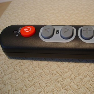 Image 5 - Learning Remote Control for  TV STB DVD DVB HIFI BOX , 6 big buttons universal  smart controller can duplicate IR code
