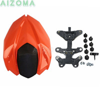 For Kawasaki Z800 2012 2015 Motorcycle Rear Seat Cover Cowl Fairing Kits Orange FRP Protective Covers