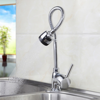 epak 360 Degree Swivel Solid Brass Kitchen Mixer Cold and Hot Kitchen Tap Single Hole Water Tap Kitchen Faucet