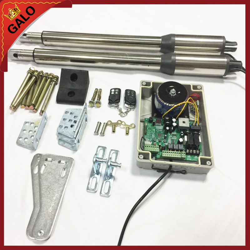 Galo 24vdc swing electric gate motor arm for dual auto for Electric motor for gates price