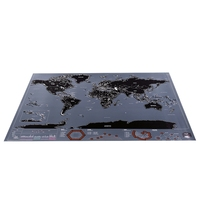 Scratch Map City Edition Scratch Map Black Gold Luxury Map World Travel Map Report Stationary