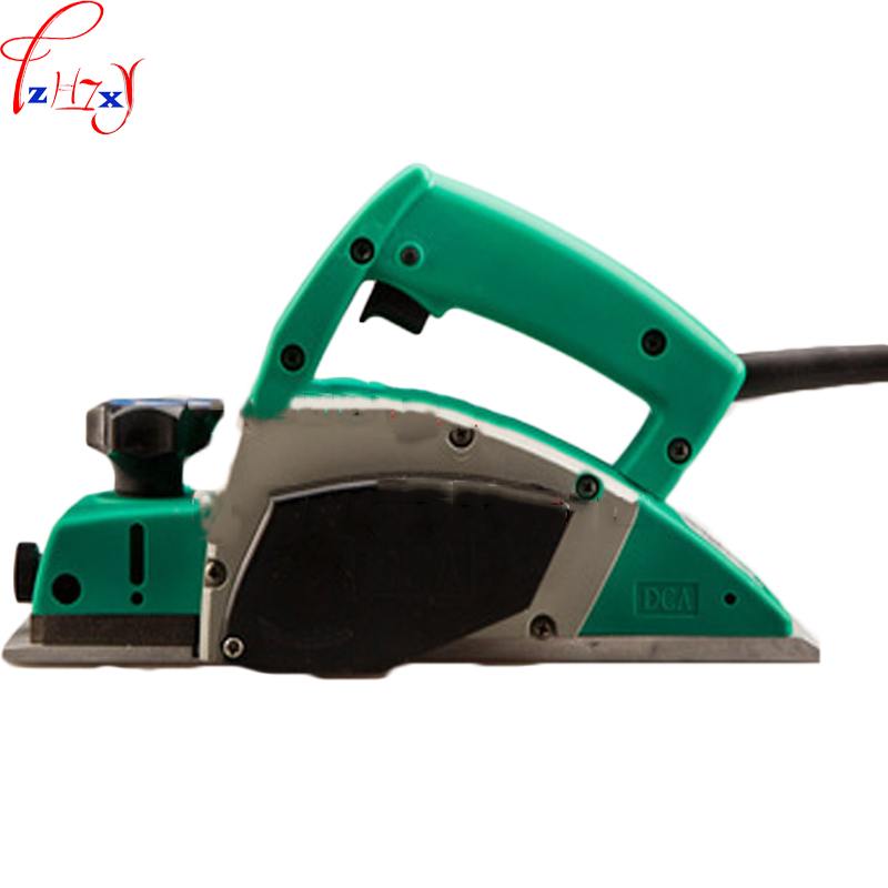 Portable multi-purpose woodworking hand electric planer M1B-FF-82X1 household use woodworking planer machine 220V 1PC household desktop woodworking planer machine multi functional diy electric planer wood planing machine 220v 1pc