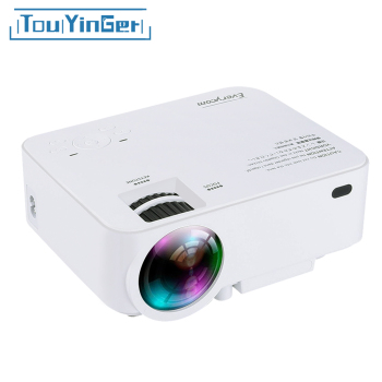 Touyinger Everycom X5 Mini LCD Projector Android Wifi Optional 1500 Lumens Home theater VGA HDMI USB Portable Video Beamer