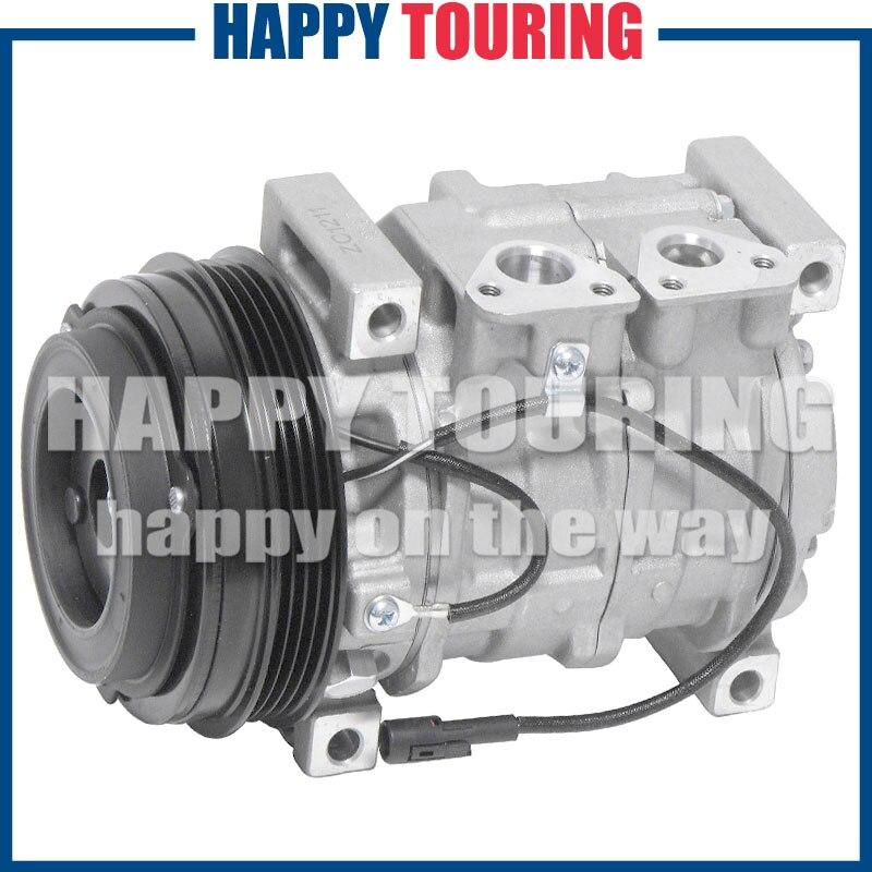 10S13C AC Compressor wClutch For Suzuki Liana 2001-2007 447170-8672 447220-4570 447220-3394 447220-4140 447220-4141 447220-4142