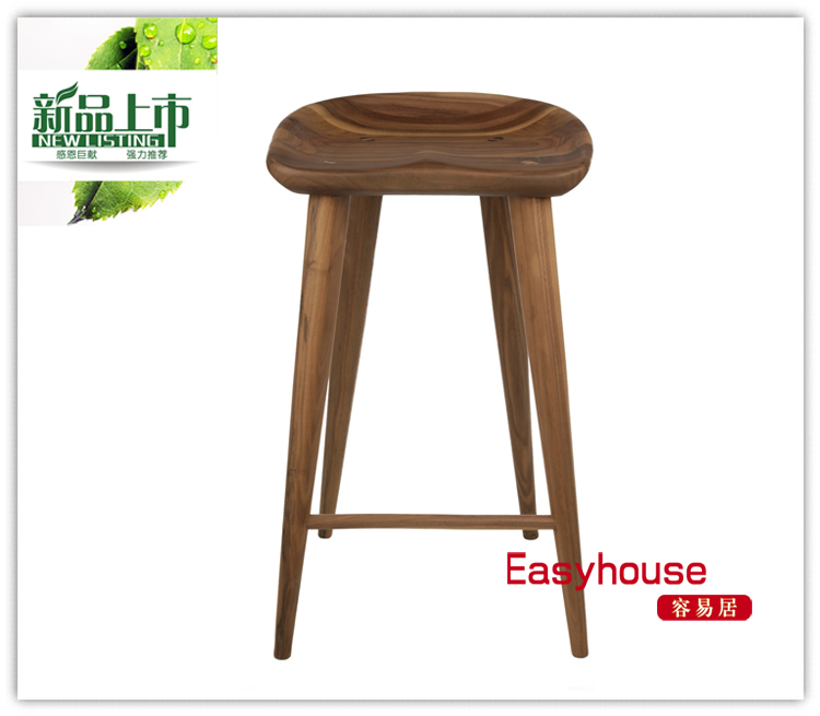 Tractor Counter Stool IKEA solid wood bar stool bar stool Scandinavian minimalist designer furniture-in Sh&oo Chairs from Furniture on Aliexpress.com ...  sc 1 st  AliExpress.com & Tractor Counter Stool IKEA solid wood bar stool bar stool ... islam-shia.org