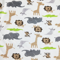 1 M Minky Printed Waterproof PUL Fabric For Diaper Material Breathable TPU Fabric DIY Baby Diapers