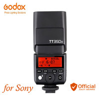 Godox TT350S Mini Speedlite 2.4G Wireless Camera Flash TTL HSS for Sony DSLR RX10 A6000 A6300 A6500 A7R A7S A7M A7SM II A58 A7