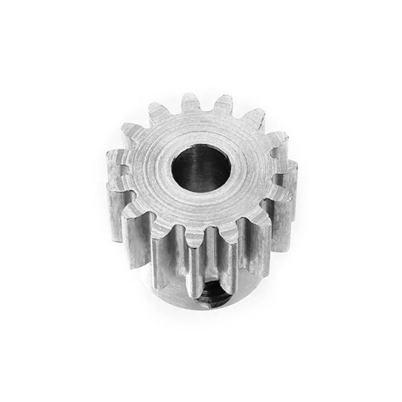 New Durable 1M 15T Motor Gear 8mm Metal Motor Convex Gear For 775 Gear Motor