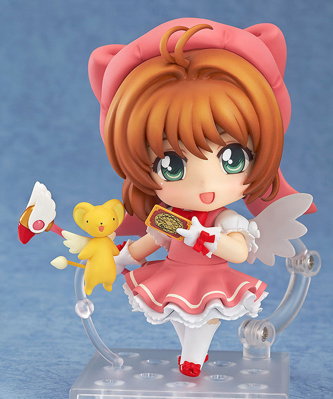 Anime Nendoroid 400 Card Captor Sakura Character Kinomoto Sakura 10cm Action Figure Toys nendoroid card captor sakura li syaoran 763 kinomoto sakura 400 pvc action figure collectible model toy doll