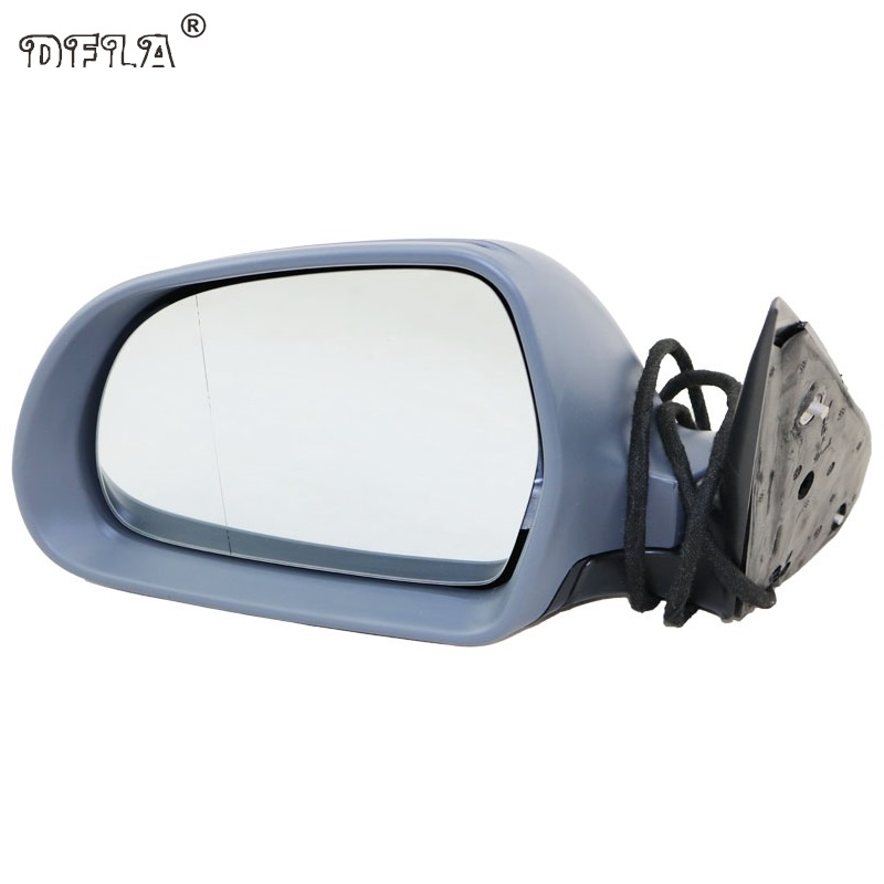 Car Mirror For Skoda Octavia A6 MK2 2009 2010 2011 2012 2013 Car-Styling Heated Electric Wing Side Rear Mirror Left Driver Side left brand new outer side rearview mirror cover housing shell for ford fiesta 2009 2010 2011 2012 2013 2014