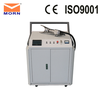 200w Laser Cleaning Machine  manual adjustment of the focus fit curved surface cleaning good surface cleanliness
