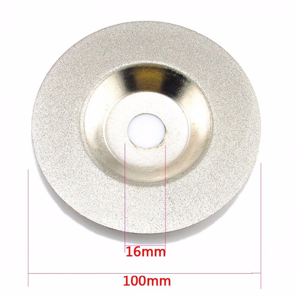 100mm Diamant Schleifscheibe Rad Sägeblatt Schneidend für Glas Winkelschleifer