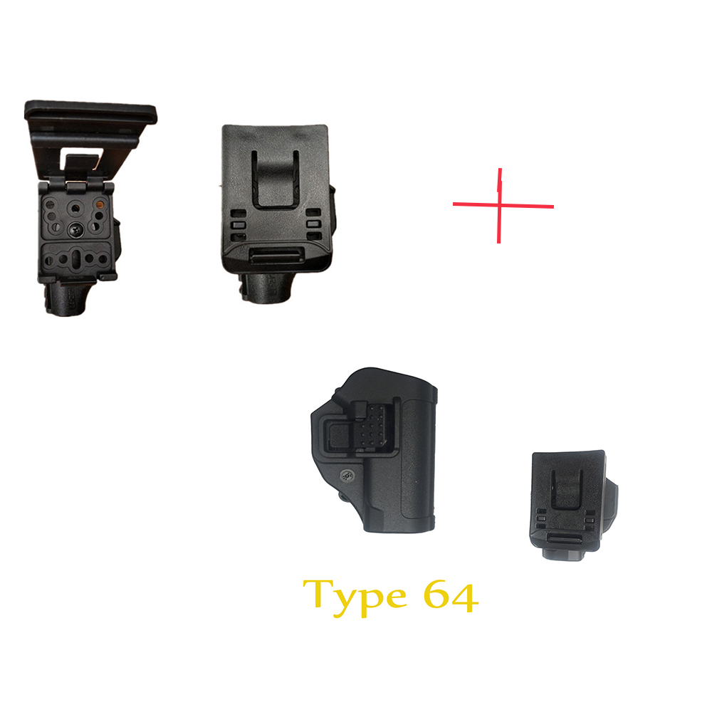 Tactical 77 type 64 type fast rob covers tech eight is the waist pull LiuSiShi quick quick pull duty equipment-in Pouches from Sports & Entertainment