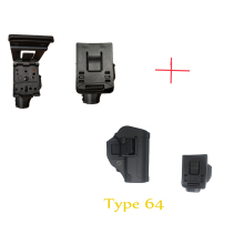 Tactical 77 type 64 type fast rob covers tech eight is the waist pull LiuSiShi quick quick pull duty equipment