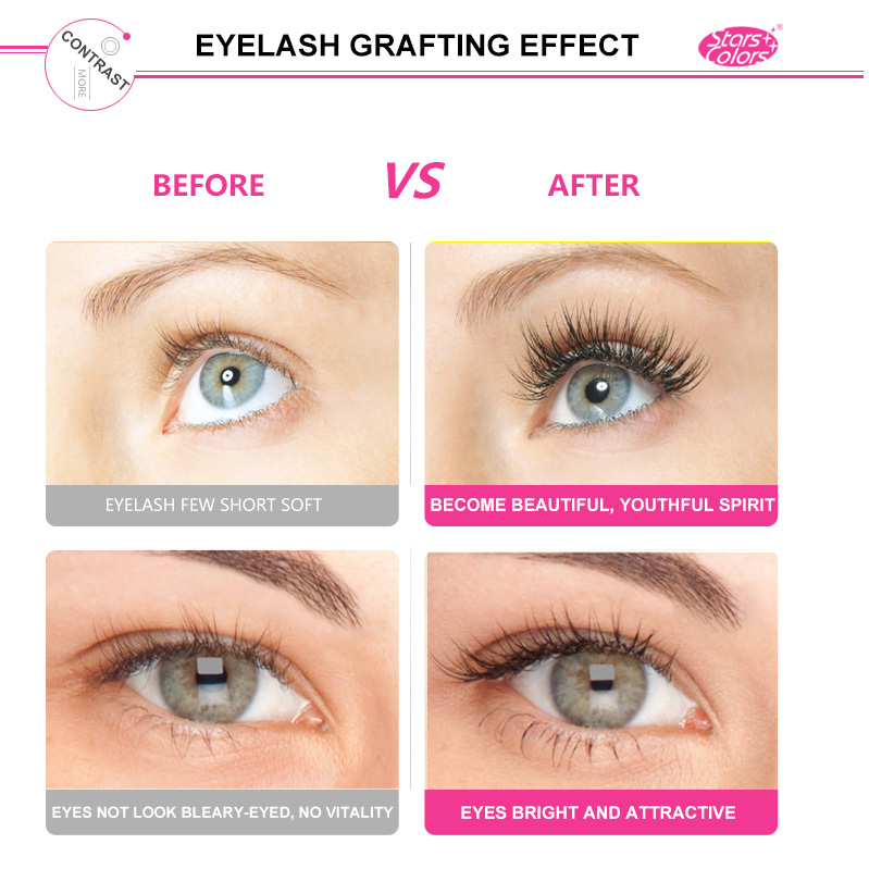 Aliexpress Buy 2017 False Double Layer Beauty Grafting Eyelash