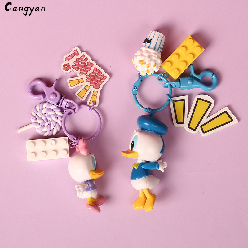 Cute Animal Toy Duckling Pendant Cute Creative Gift Bag Accessories Popcorn Lollipop Kids Prize Couple Toys-in Plush Wall Stuff from Toys & Hobbies