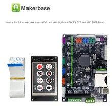 Makerbase MKS Robin 32Bit ควบคุม 3D ชิ้นส่วนเครื่องพิมพ์ Mainboard Support marlin2.0 Controller บอร์ด TFT Touch Screen