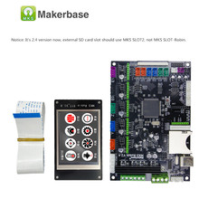 Makerbase MKS Robin 32Bit Control Board 3D Printer parts mainboard  support marlin2.0 controller board with TFT Touch Screen