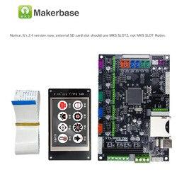 Makerbase MKS Robin 32Bit płyta sterowania części drukarki 3D płyta główna wsparcie marlin2.0 płyta kontrolera z ekran dotykowy tft w Części i akcesoria do drukarek 3D od Komputer i biuro na