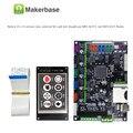 Placa de circuito integrada MKS Robín STM32. Soporte de herramientas de fuente abierta tarjeta madre del controlador marlin2.0.robín CON TFT disp