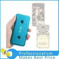 3D ısı transferi kalıp sublime metal kasa samsung s5 mini için kalıp telefon kılıfı kalıp