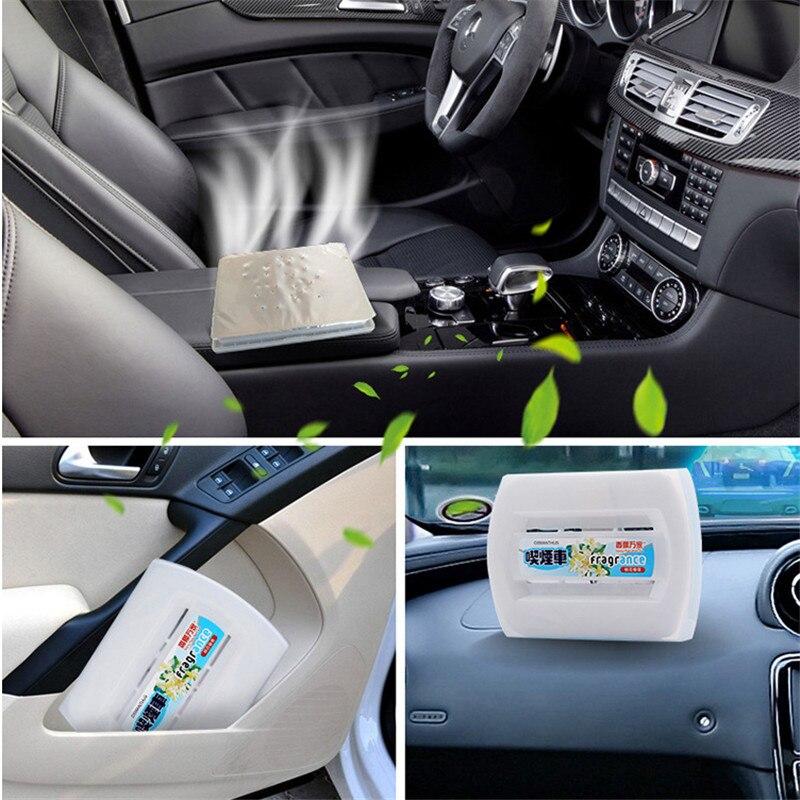kopen goedkoop auto interieur 230g solide parfum balsem luchtverfrisser luchtreiniger voor voertuig garderobe slaapkamer citroen rose perzik plantaardige