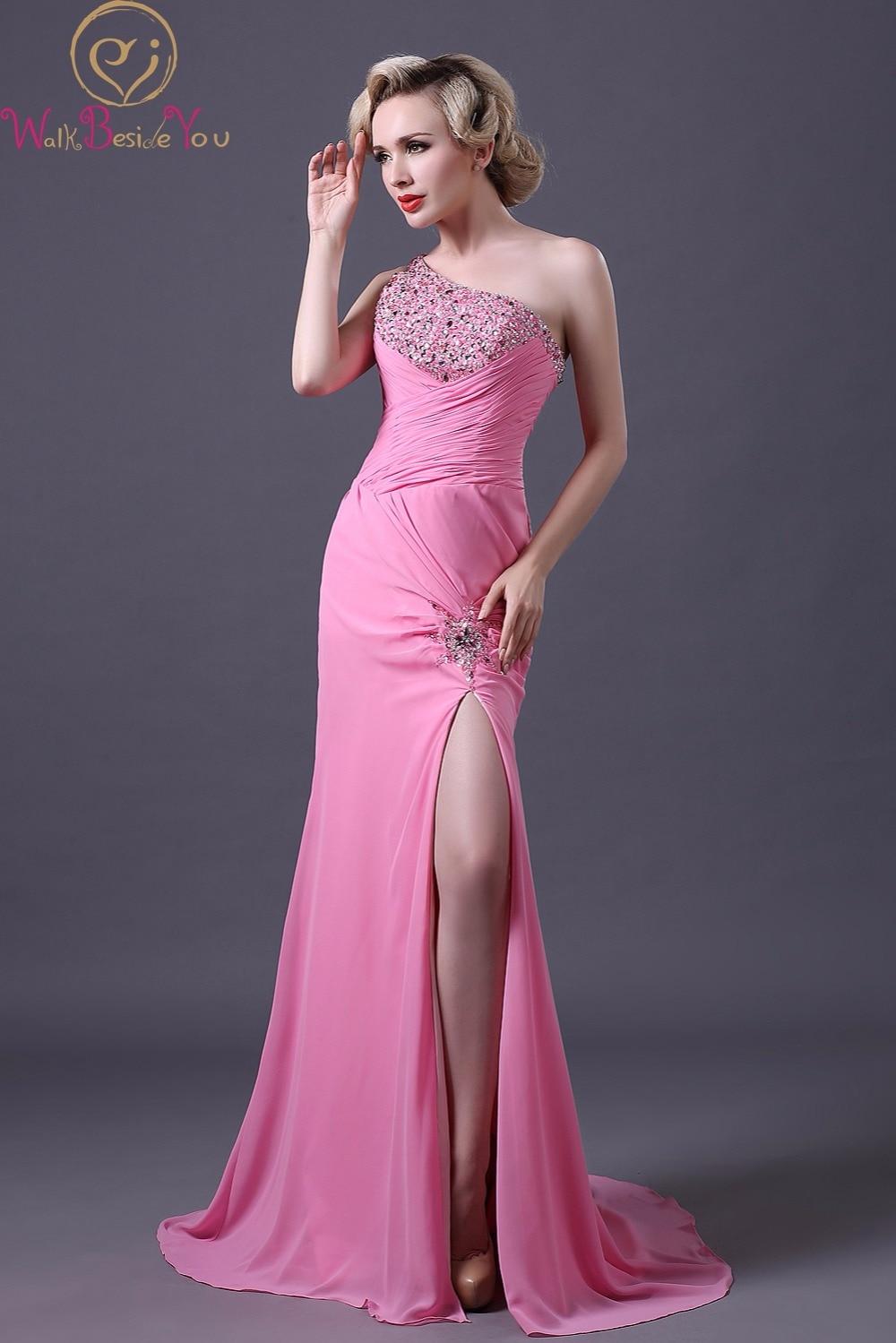 Bonito Purple One Shoulder Prom Dress Ideas - Colección de Vestidos ...