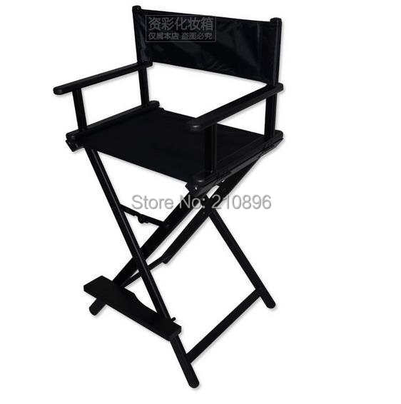 makeup chairs for patio table online shop portable director aluminum chair foldable artist hairdressing