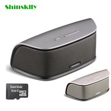Shinsklly i808 Bluetooth4.0 Speaker Aluminum Portable 10M Wireless Speaker Built-in 1200mAh Battery Stereo Sound Box Subwoofer