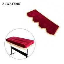 ALWASYME пианино клавиатура Пылезащитная крышка 61 Ключи 88 ключи, электронное пианино клавиатура крышка Защитная против пыли украшенная клавиатура крышка
