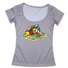 Best Sale High Quality The Big Bang Theory Womens Scoopneck Funny Design T shirt Summer 3d Print Womens Shirts S-3XL