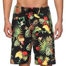 Мужские пляжные шорты с принтом ананаса Размер 28-40 дюймов