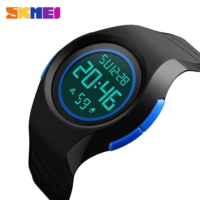 SKMEI Top Brand Mens Sports Watches Countdown Led Men Watch Alarm Chrono Digital Wristwatches 50M Waterproof