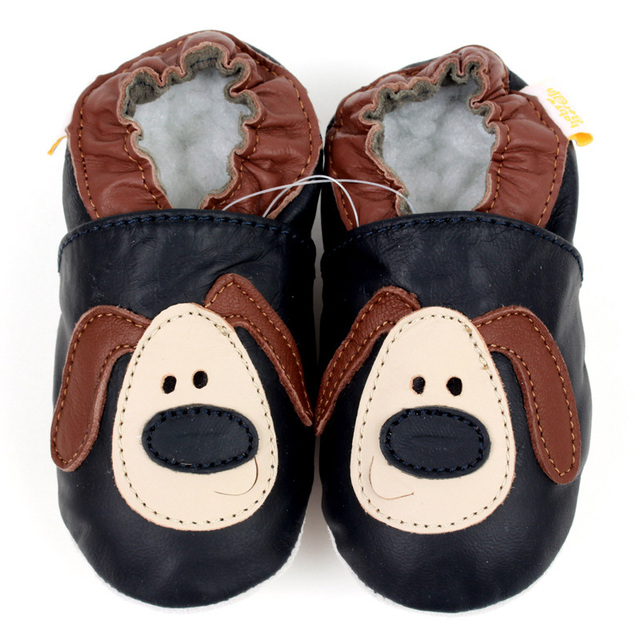 1e77938ac443 Soft Sole Baby Shoes Leather Baby Moccasins Baby Kids Shoes Animal Newborn  Baby Shoes Boy Slippers Toddler Infant Shoe Footwear