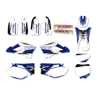 New Team Graphics Backgrounds Decal Sticker For Yamaha WR250F WR450F WRF250 WRF450 2005 2006 WRF 250 450 WR 250F 450F