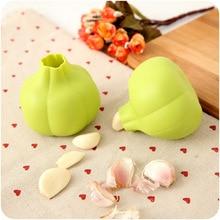FOURETAW 1 Piece Magic Silicone Garlic Peelers & Zesters Peel Easy Kitchen Fruit Vegetable Tools Drop Shipping