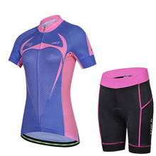 Brock Cycling Jerseys Short set Summer Breathable Women Bike Sports Wear Ciclsimo Clothing Riding Quick-Dry Lycra GEL Padded